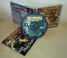 WARRIORS Might e magic PS1 PSX pal Sony PlayStation gioco game completo