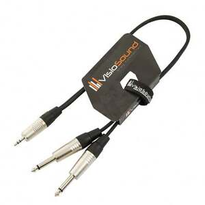 Audiokabel & -adapter 3.5 Stereo Zu 3.5 Stereo Jack Lead Auxiliary Male Zu Male 2 Meter