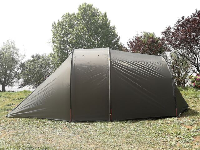 Waterproof Motorcycle C&ing Tent for 2 Person Portable Biker Tent with Bedroom & 4 Entrance Waterproof Motorcycle Tent Cover With Bedroom Fit for 2 ...