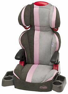 Evenflo Big Kid High Back SI Car Seat Booster ALEXA Baby Child 6 Position DLX