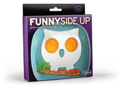 Funny Side Up Hibou Silicone FRITES FRITURE oeufs Moule Déjeuner Fred /& Friends