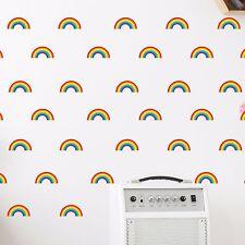 Mini Rainbow Wall Stickers Decal Stickaround Girls Laptop Window Nursery Kids