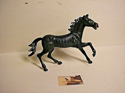 Fornito Soldatini Clone Nardi Cavallo Italy Plastica Scala 1:32 Cm 5 Al Garrese Tempi Puntuali