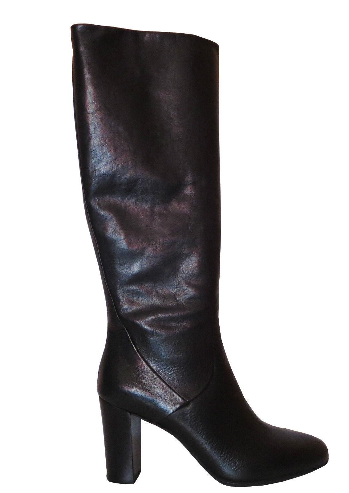 GANT ] Lucy [ ] GANT Mujer Piel caña larga botas negras NUEVO 65d053