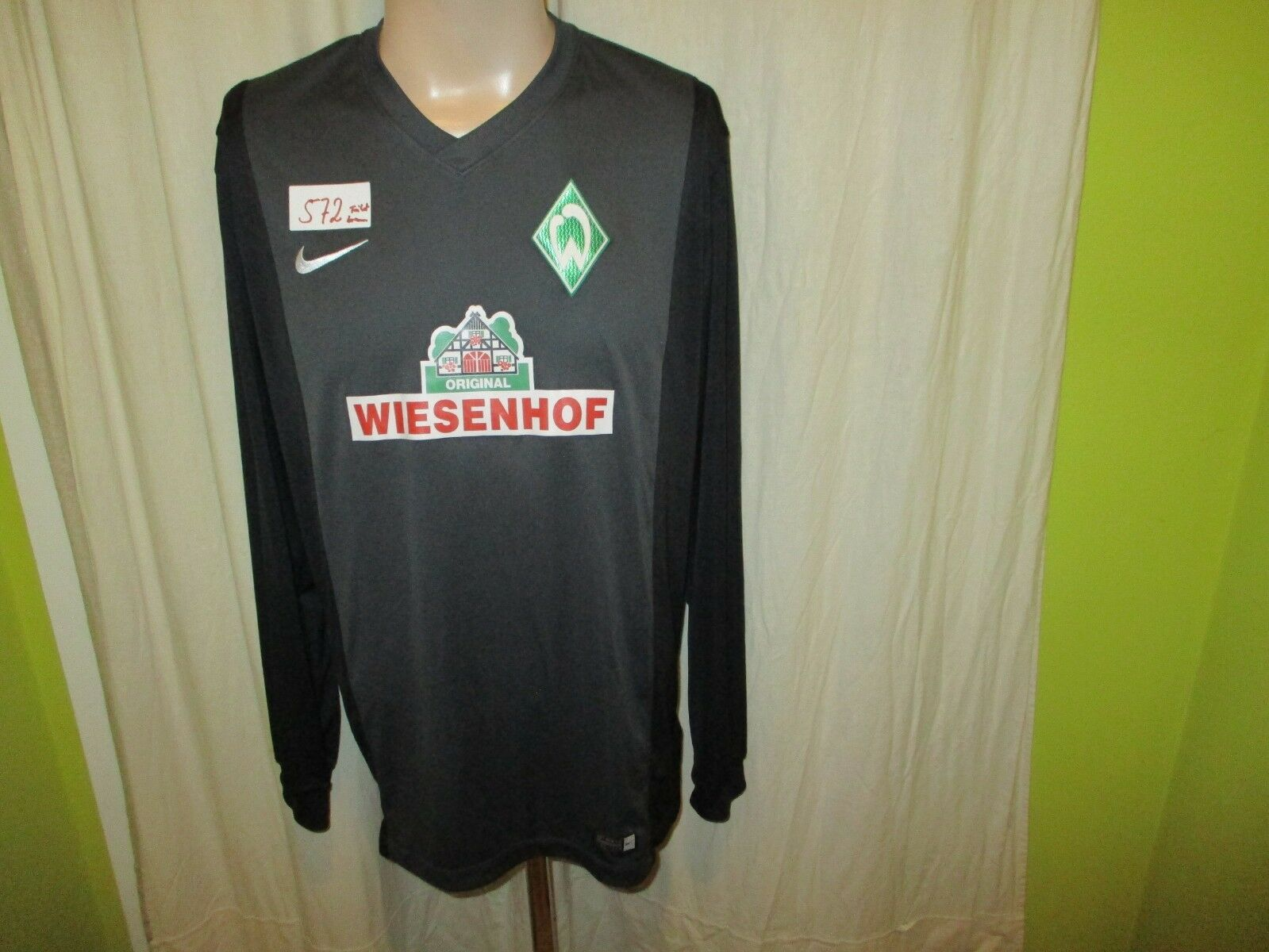 Werder Bremen Nike Langarm Junior Matchworn Matchworn Matchworn Trikot 2017 18 + Nr.2 Gr.L RARITÄT de285a