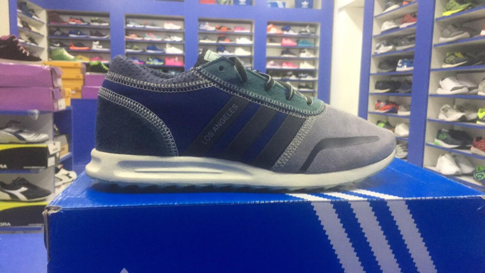 SCARPE   N. 38 2/3 /2   ADIDAS LOS ANGELES  SNEAKERS  BASSE   S42022 The latest discount shoes for men and women