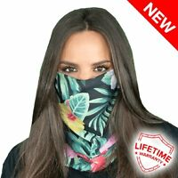 Salt Armour Face Shield Hawaii Floral Breathable Protective Sporting Face Mask