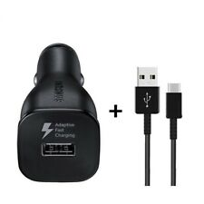 New OEM Samsung Fast Charging Car Charger Power Adapter Black