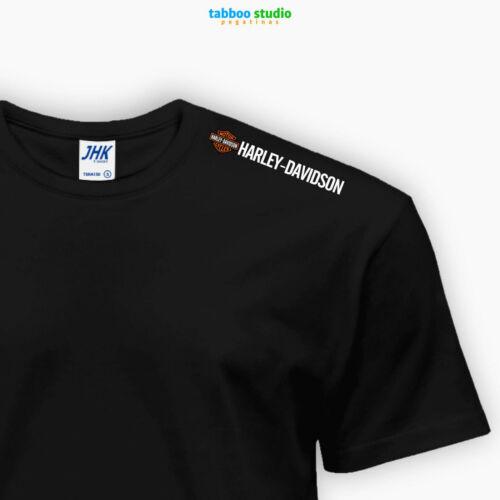 T-shirt Harley Davidson in cotone moto 883 Sportster Softail Trike CVO Glide