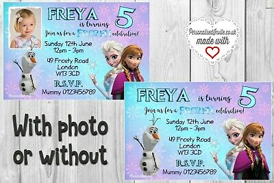 30 Frozen Personalized Address Labels Olaf Anna Elsa Kristoff Sven