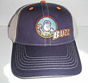 10270502ae3 Buzz Lightyear Snapback Mesh Baseball Cap Hat NEW Kid s Size XS S ...