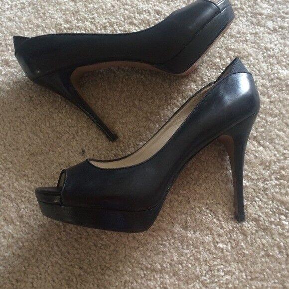 Classiques Entier Peep Toe Shoe Shoe Toe Size 9 Color Nero 82238 20 dd32a4