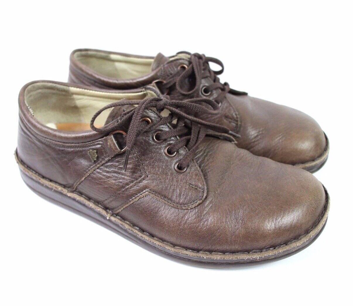 Finn Confort Homme Chaussures Derbies en cuir à lacets Décontracté marron SZ 39 US 8
