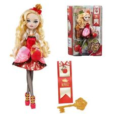 Ever After High Bambola-Royal Apple White