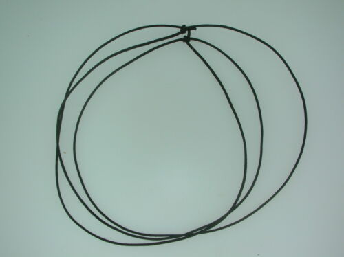 Black cord necklace 0.5mm thick adjustable ideal for pendants with//or beads Q2