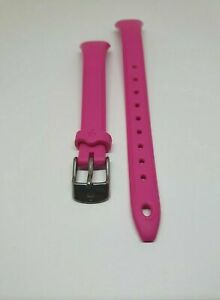 Timex-Genuine-Pink-Resin-Watch-Strap-Band-for-T5K525-Timex-Watch-12mm