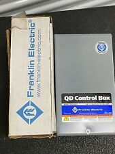 12 Hp 230v Franklin Qd Control Box Submersible Water Pump 2801054915