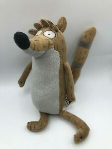 The-Regular-Show-Rigby-Plush-Kids-Soft-Stuffed-Toy-Animal-Doll-Cartoon-Network