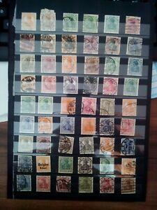 Imperio-aleman-Germania-sellos-lot-Stamps-sellos-timbres-duplicados