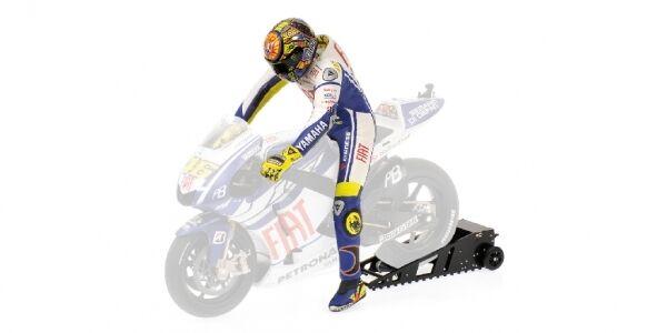 Valentino rossi riding figure w calmement MotoGP 2009 1 12 MODEL MINICHAMPS