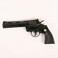 """Replica Colt Python .357 Magnum Pistol Revolver Denix Prop Gun 6"""" Barrel"""