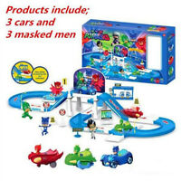 Pj Masks Party Command Center Car Parking Characters Track Us Fast Shipping