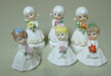 COLLECTIBLE 6 SMALL KELVIN'S MONTH GIRL FIGURES