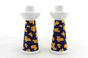 une-paire-de-Vintage-ARZBERG-candlesticks-Allemand-Design