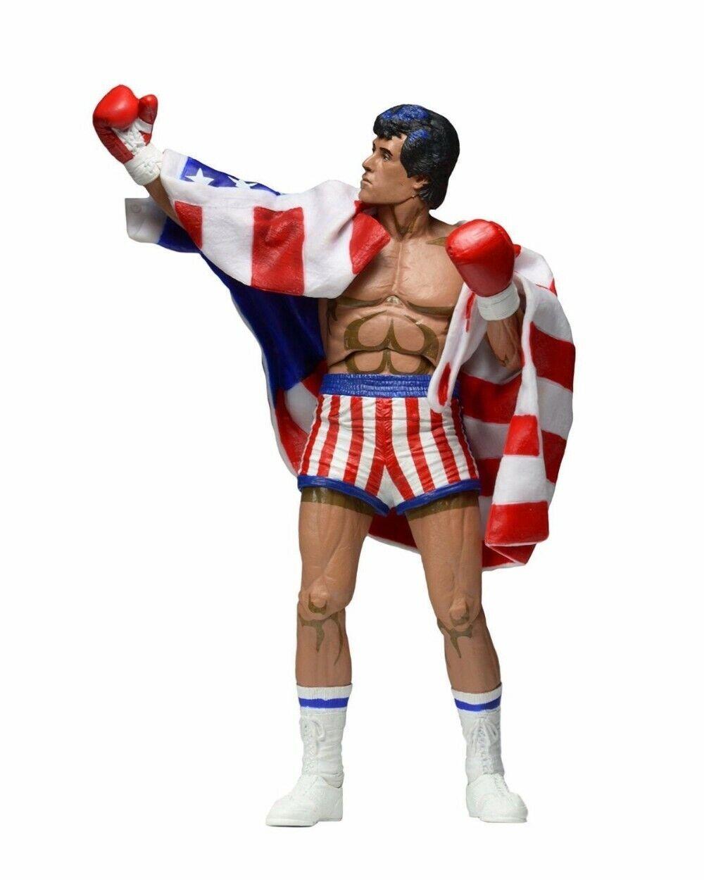 Rocky Balboa azione cifra giocattolo modellololo Sylvester Sttuttione video gioco figurine