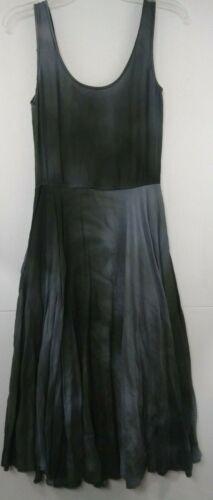 VTG Bonnie Strauss Abstract Gray Dress sz 4 Style