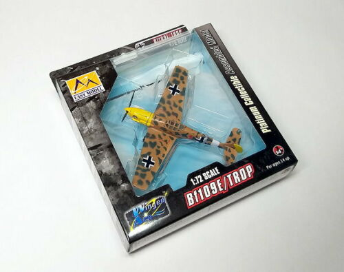 EASY MODEL Aircraft Model 1//72 Bf109E//TROP 2//JG27 Finished Hobby 37278 E7278