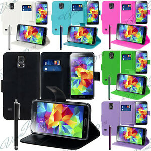 Housse-Etui-Coque-Pochette-Portefeuille-Support-Video-Pour-Samsung-Galaxy-Seri-S