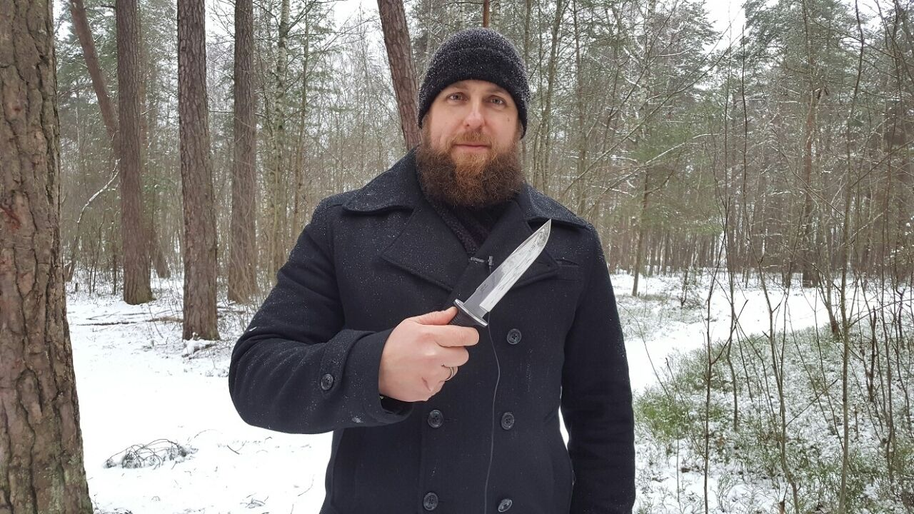 Russian Tactical knife