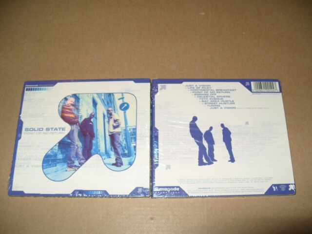 Solid State  Point of No Return (2002) cd Digipak New & Sealed  (L.S.)