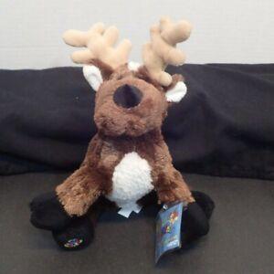 "Ganz Webkinz Reindeer Plush 9/"" Stuffed Animal New Unopened Unused Codes HM137"