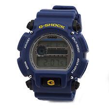 Casio Men's DW9052-2 G-Shock Rubber Digital Dial Watch (Blue)