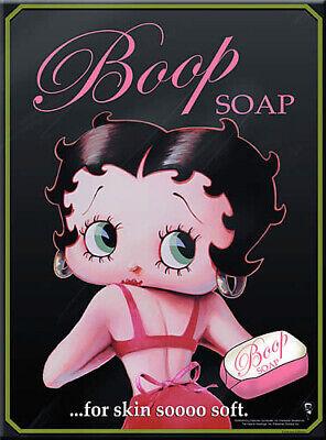 French Advertising Sign Betty Boop Fashion Paris Eiffel