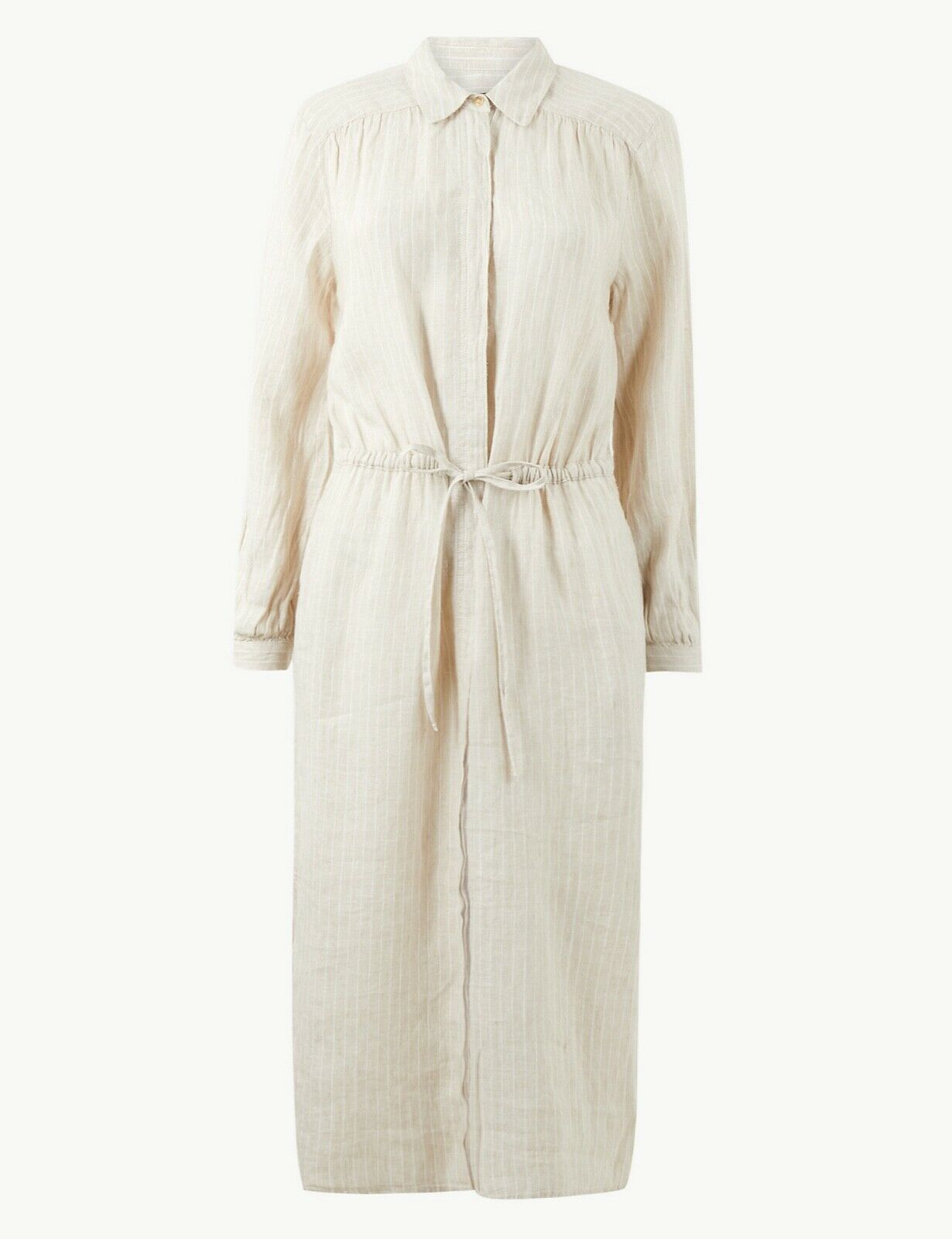Marks & Spencer Pure LINEN DRESS Size 14 NEW Was £45