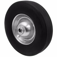 Tire Flat Free 10 X 2.5 Wheelbarrow Carts Wagon Barrow Ribbed Tread Industrial on sale