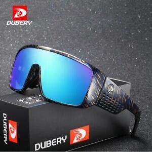 DUBERY Unisex Polarized Sunglasses Outdoor Driving Fish Sports Glasses Trendy~