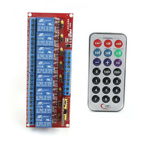 12V-Multi-function-Infrared-Remote-Control-8-Channel-Relay-Module-Bidirectional