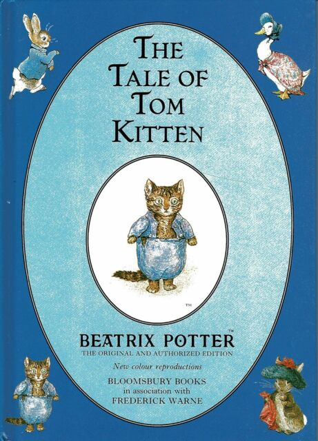 The Tale of Tom Kitten By BEATRIX POTTER ~ New Colour Reproduction Hardback Book