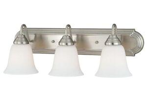 Satin Nickel Bathroom Vanity Lighting