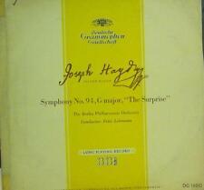 """Haydn(10"""" Vinyl)Symphony No.94 (G major""""The Surprise"""")-Deutsche Grammophon-DG 16"""