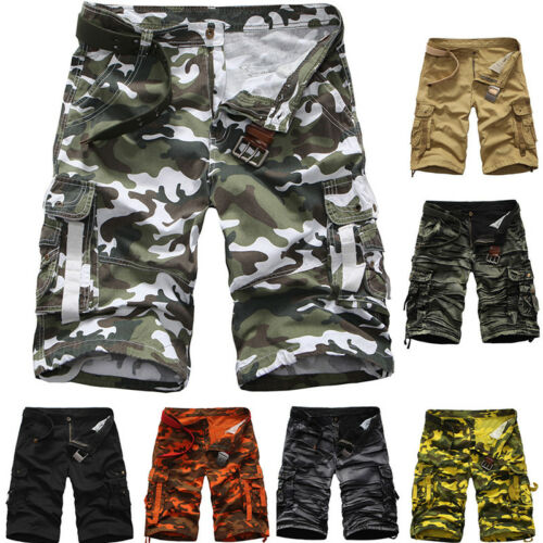 Men/'s Military Combat Cargo Shorts Pants Work Short Army Casual Trouser 29-38