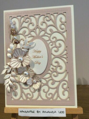"""Handmade Birthday Mum 50th Anniversary Retirement Card 5x7/"""""""