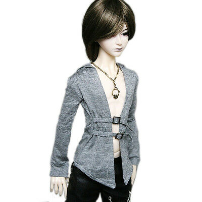 [wamami] 06# Gray Coat/T-shirt/Outfit 1/3 SD DZ AOD DOD BJD Dollfie