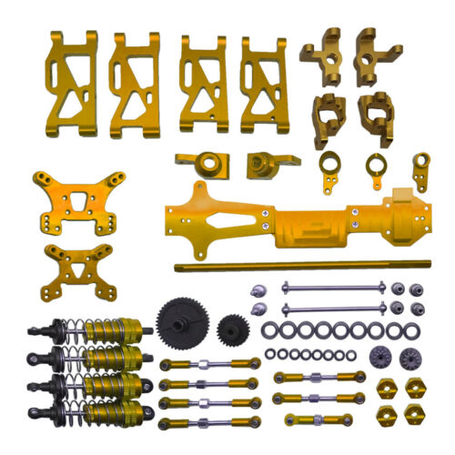 2 Kit 1:14 RC Model Car Accessory Screws /& Nuts for WLtoys 144001 Crawler