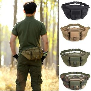Outdoor-Utility-Tactical-Belt-Waist-Pack-Pouch-Military-Camping-Hiking-Molle-Bag