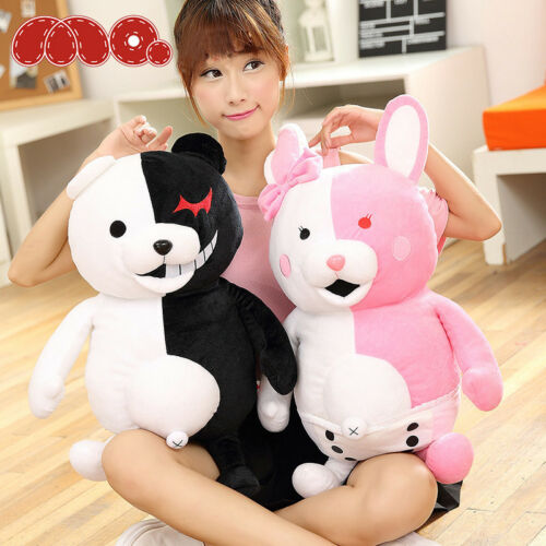 @Game Danganronpa Monokuma Bear Monomi Rabiit Plush Stuffed Doll Toy Xmas